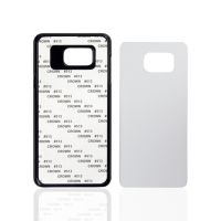 Чехол для Samsung Note 5, пластик черный со вставкой стандарт