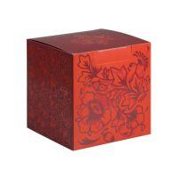Коробка под кружку красная
