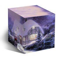 Коробка под кружку Новогодний домик