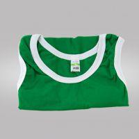 Майка детская х/б зеленая (24) 96-98