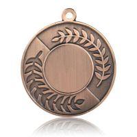 Медаль HB077 бронза D50мм, D вкладыша 25мм