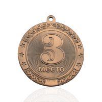 Медаль корпусная MK183 бронза D медали 45мм третье место