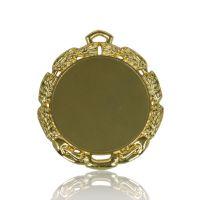 Медаль Zj-M732 золото D65мм, D вкладыша 48мм