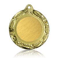 Медаль Zj-M736 золото D65мм, D вкладыша 40мм