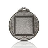 Медаль Zj-M782 серебро D65мм, D вкладыша 37мм, задний вкладыш 35х35мм