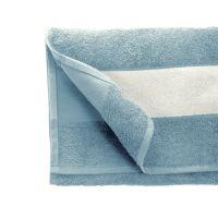 Полотенце махровое 30*70 см, 400 г/м2, хлопок, с 1 полем под сублимацию, голубой (298)